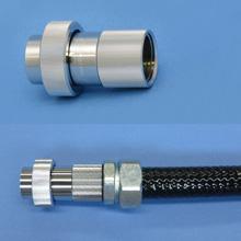 コネクタ、フレキシブル電線管の使用